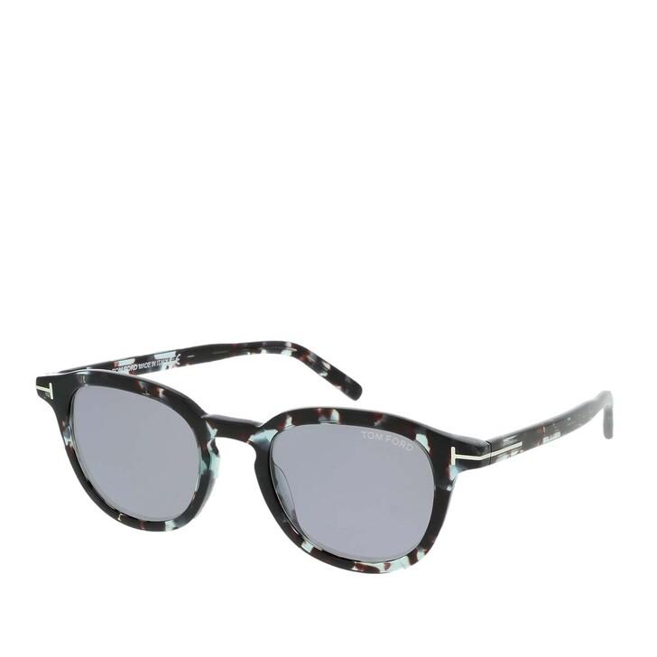 Sonnenbrille, Tom Ford, FT0816 KUNSTSTOFF SONNENBRILLEN Schwarz Glanz