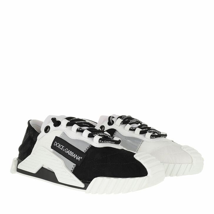 shoes, Dolce&Gabbana, Slip On Sneakers Black/White/Grey