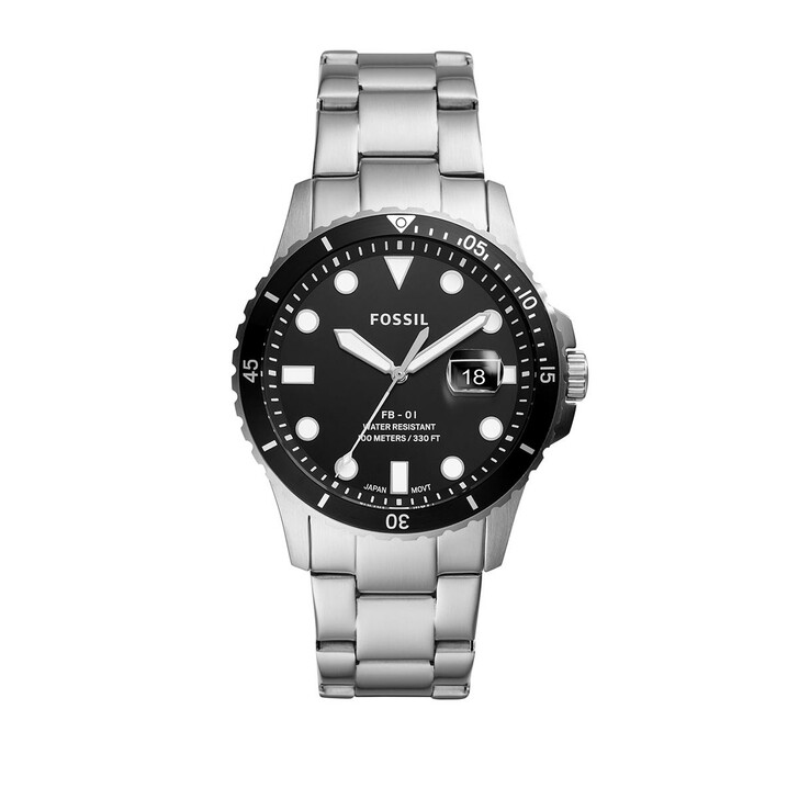 watches, Fossil, Watch FB - 01 FS5652 Silver