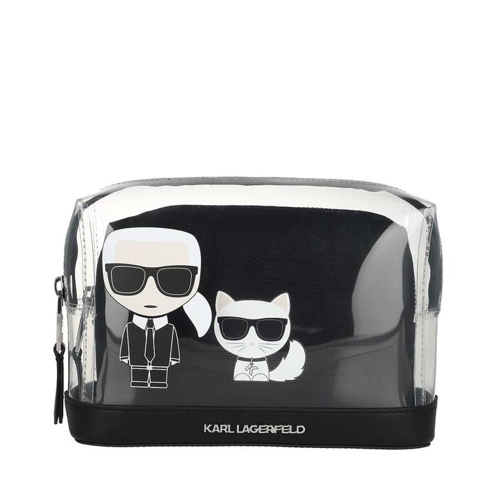 Handtasche, Karl Lagerfeld, K/Ikonik Transparent Pouch Transparent