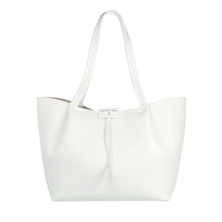 Handtasche, Patrizia Pepe, Shopper Bianco