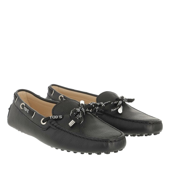 Schuh, Tod's, Loafers Leather Black