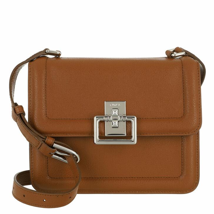 bags, Furla, Furla Villa S Crossbody Cognac H