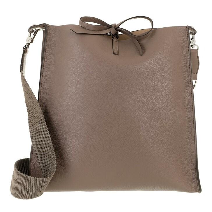 Handtasche, Abro, Large Crossbody Bag Raquel  Taupe