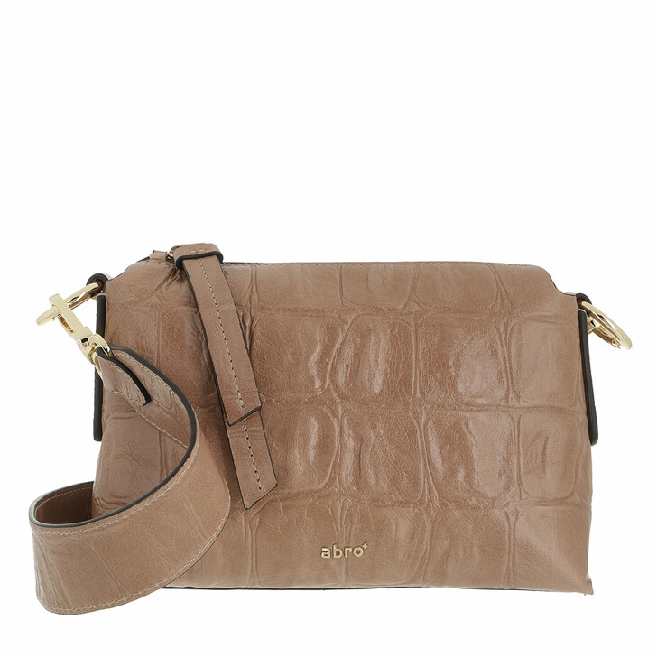 bags, Abro, Crossbody Bag JULIE Nude