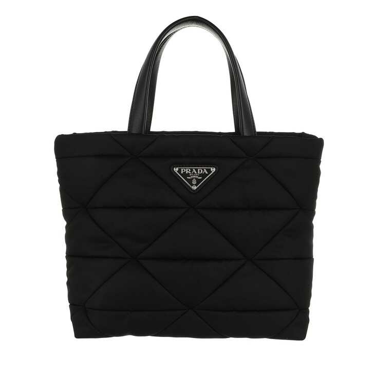 Handtasche, Prada, Medium Shopping Bag Leather Black