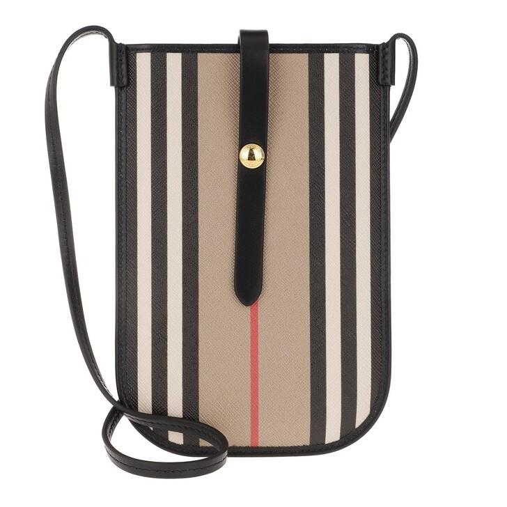 Smartphone/Tablet case (Case), Burberry, Icon Stripe Phone Case Beige
