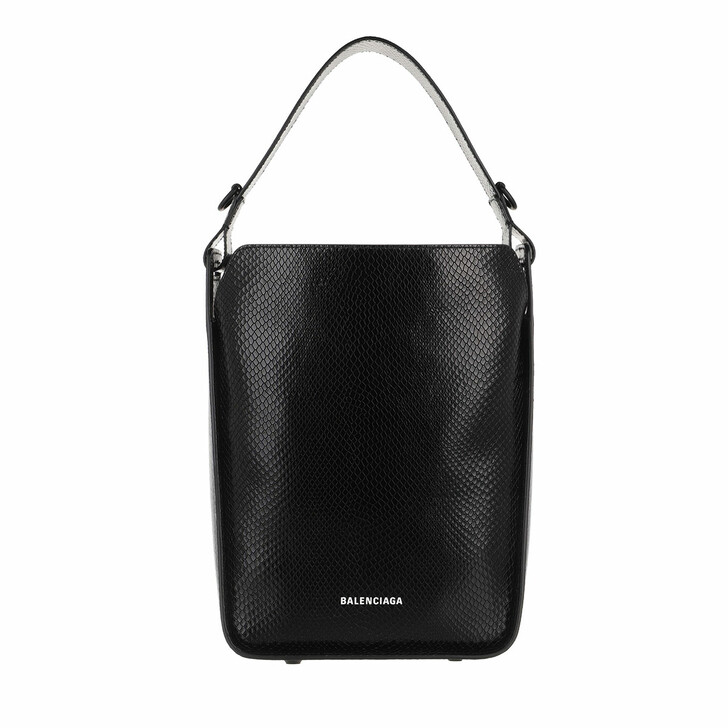 Handtasche, Balenciaga, North-South Tool Tote Leather Black