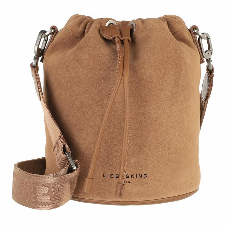 bags, Liebeskind Berlin, Bucket Bag Small Caramel
