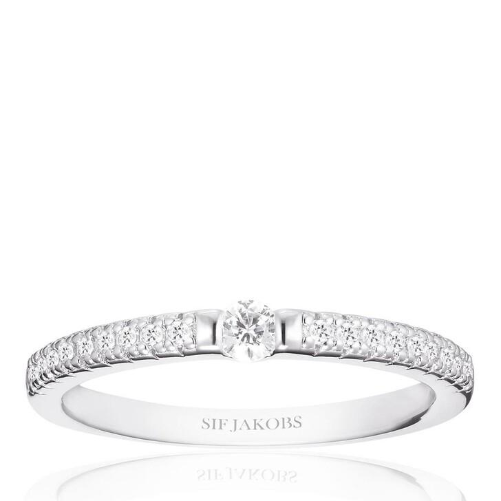 rings, Sif Jakobs Jewellery, Ellera Uno Ring Sterling Silver