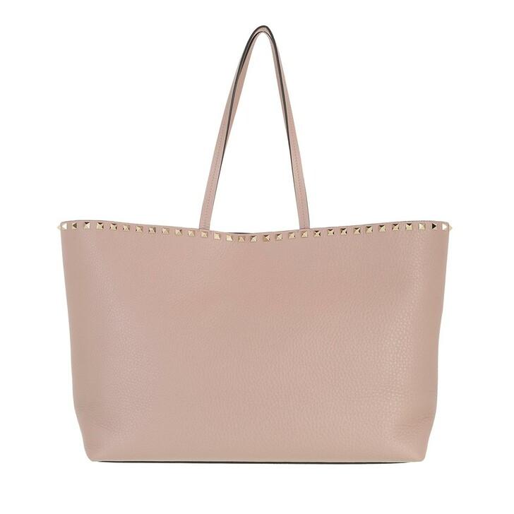 bags, Valentino Garavani, Rockstud Studded Shopping Bag Leather Podure