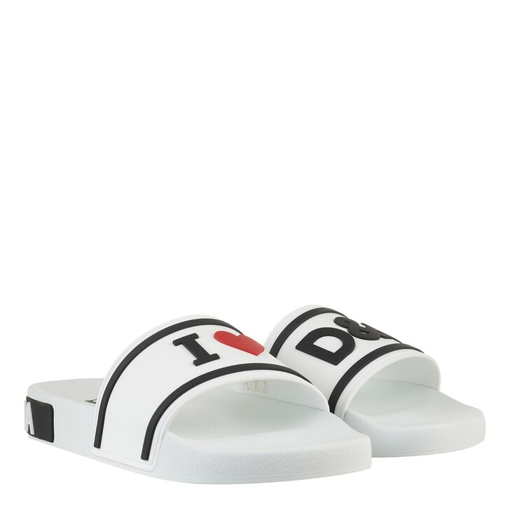 Schuh, Dolce&Gabbana, Beach Slider Multicolor
