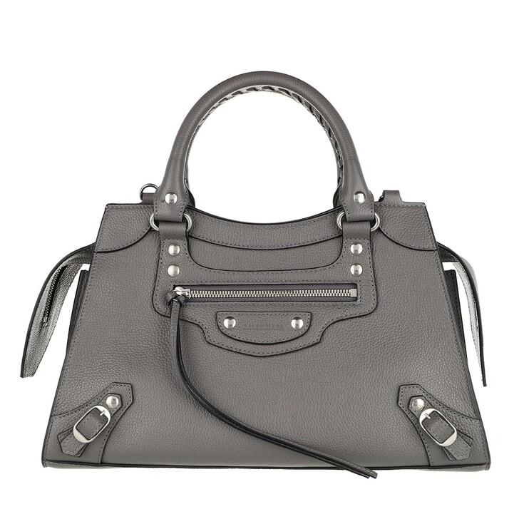 Handtasche, Balenciaga, Neo Classic Small City Bag Leather Grey