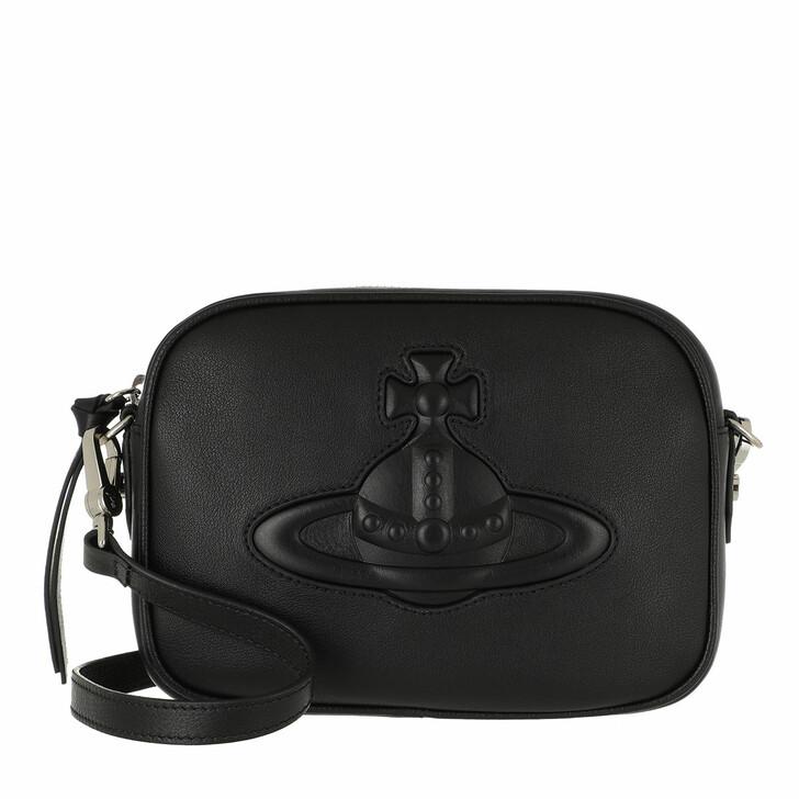 Handtasche, Vivienne Westwood, Chelsea Camera Bag Black
