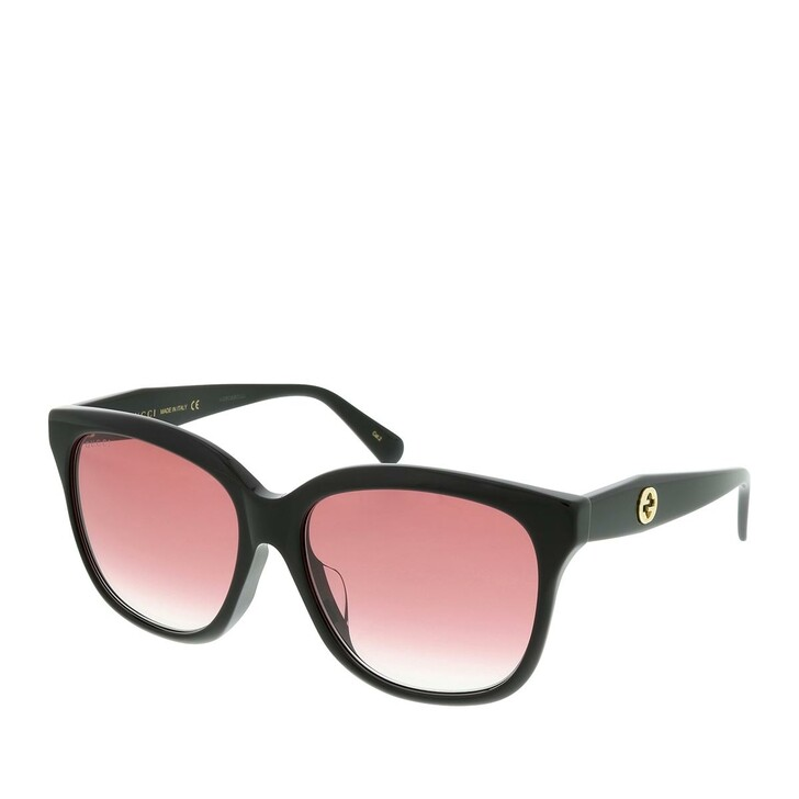 Sonnenbrille, Gucci, GG0800SA-002 56 Sunglass WOMAN ACETATE Black