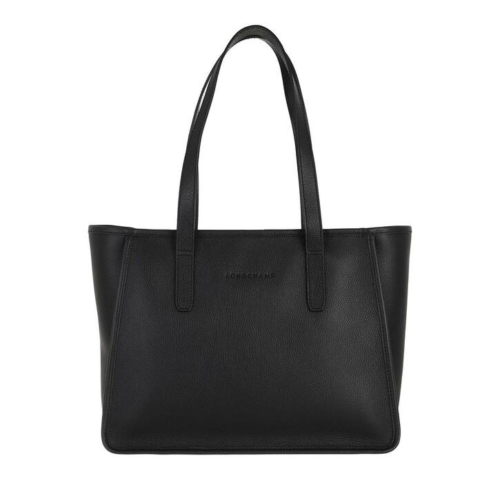 bags, Longchamp, Le Foulonné Shoulder Bag  Black