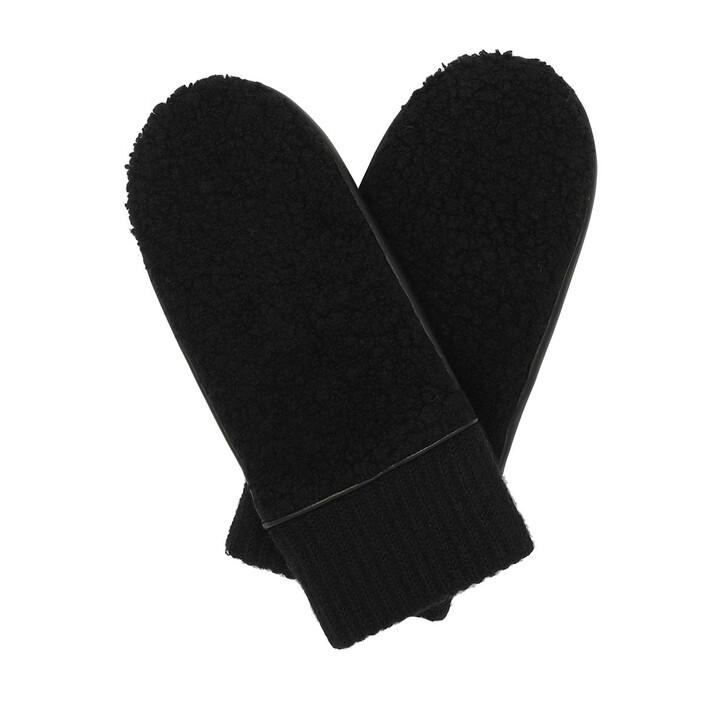 Handschuh, Roeckl, St. Petersburg Fäustling Gloves Black