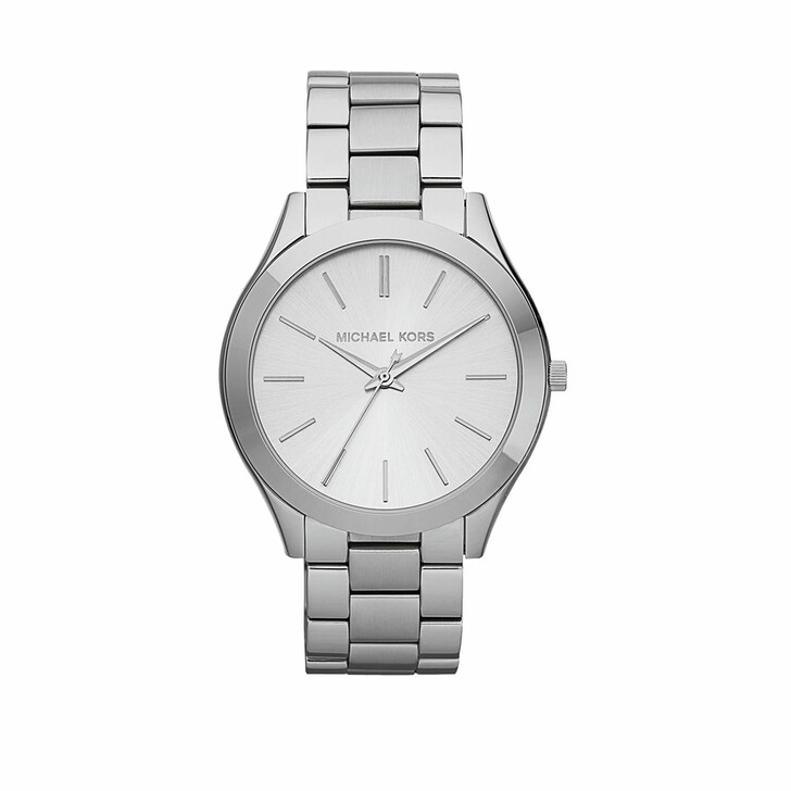 Uhr, Michael Kors, Slim Runway Watch Silver
