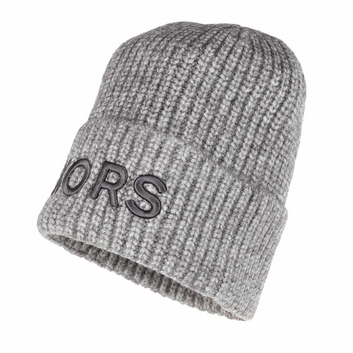 Schal, MICHAEL Michael Kors, Men Embroiderd Kors Hat Pewter