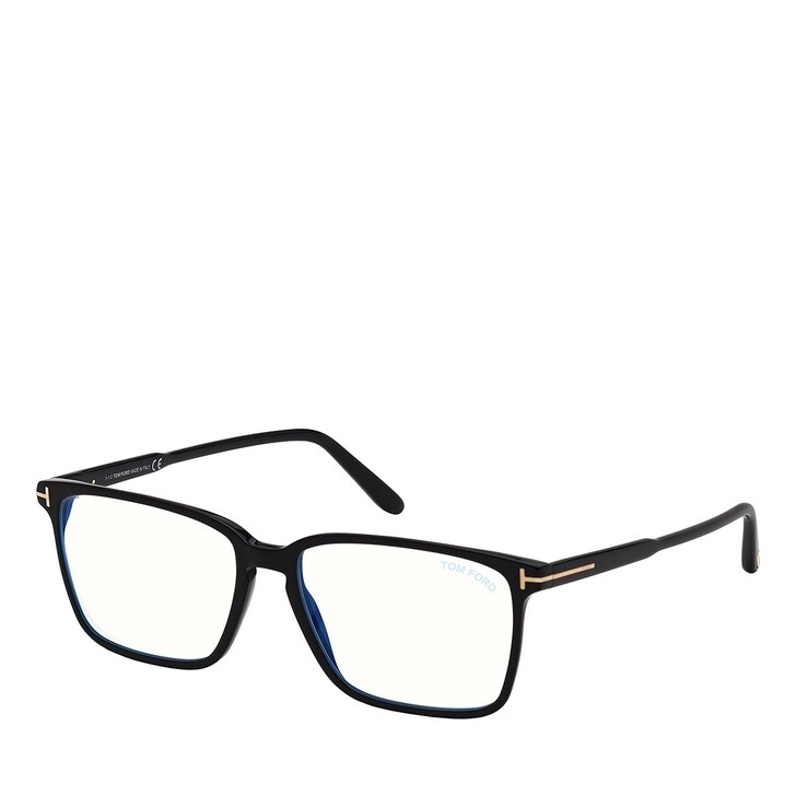 Brillen mit Gläsern, Tom Ford, Blue Blocker FT5696-B Black