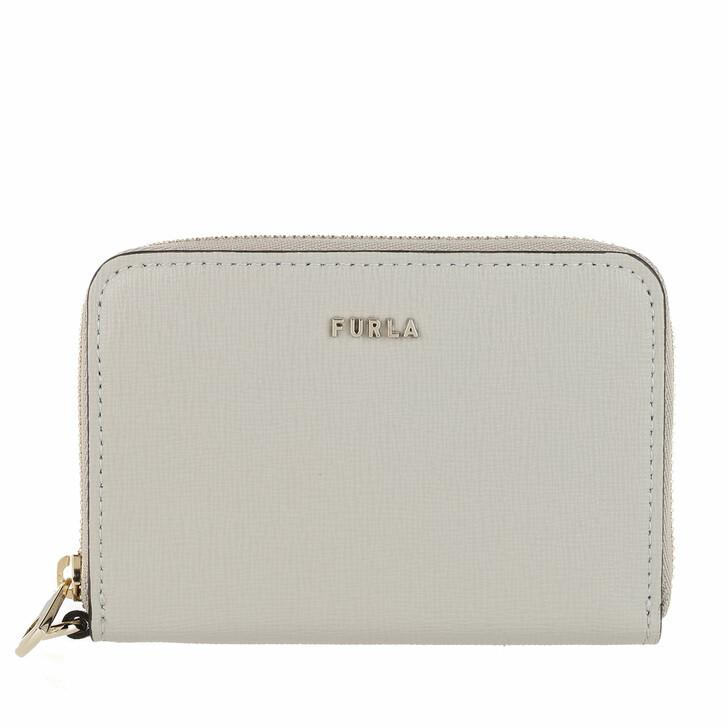 wallets, Furla, Babylon Small Zip Around Wallet Ghiaccio