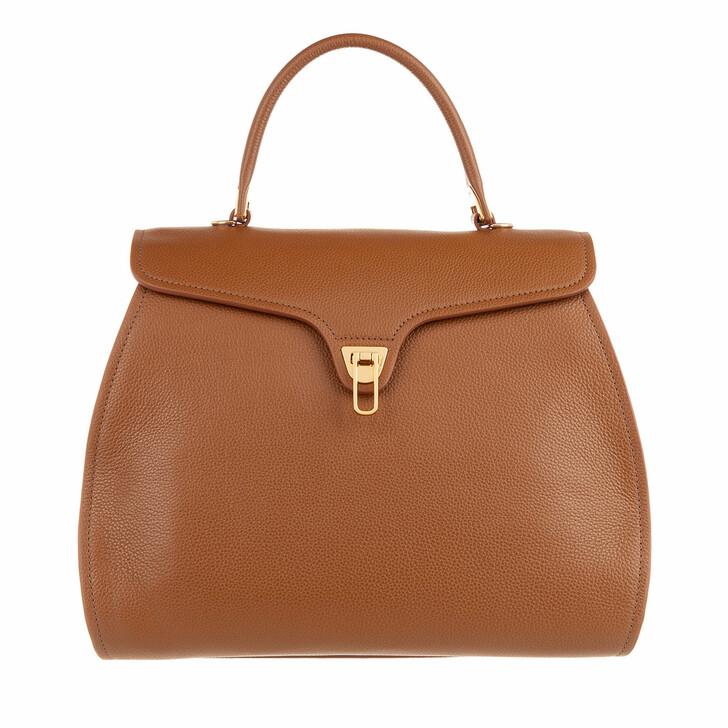 Handtasche, Coccinelle, Marvin Satchel Bag Caramel