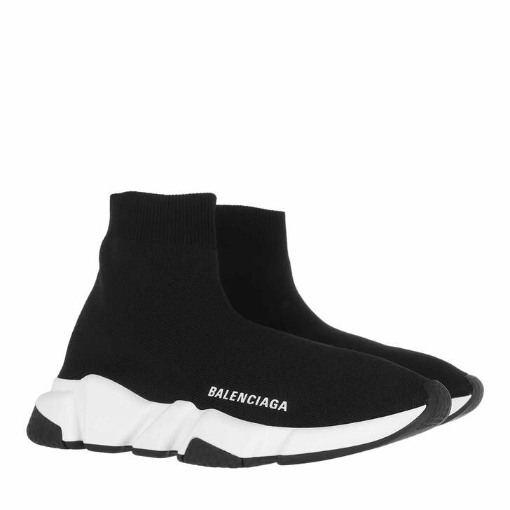 Schuh, Balenciaga, Speed LT Knit Sneaker Black/White