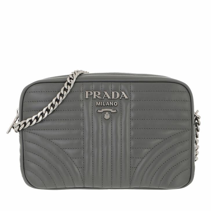 bags, Prada, Diagramme Crossbody Bag Leather Marble