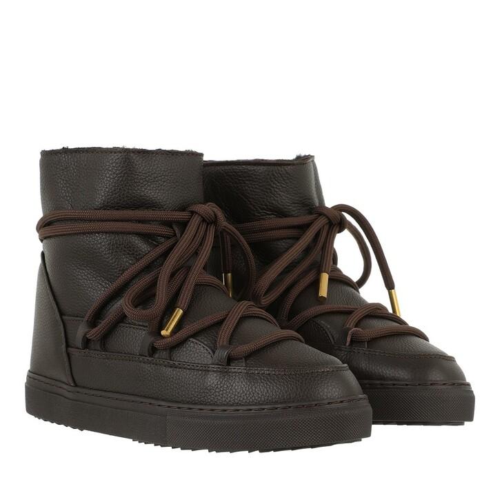 shoes, INUIKII, Full Leather  Chocolate