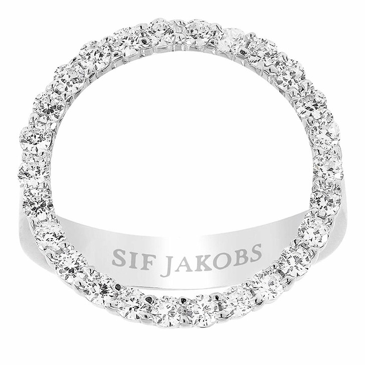 rings, Sif Jakobs Jewellery, Biella Grande Ring Sterling Silver 925