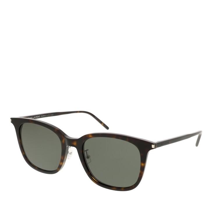 sunglasses, Saint Laurent, SL 489/K-002 55 Sunglass Unisex Acetate Havana-Havana-Grey