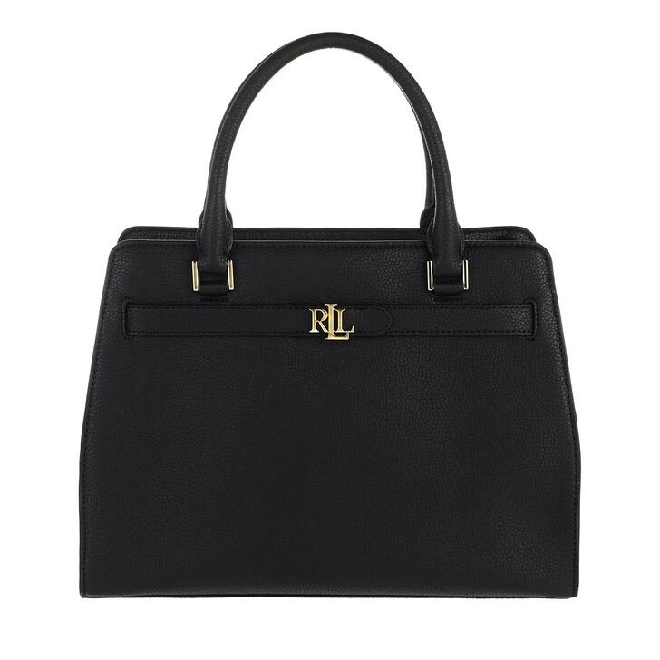 Handtasche, Lauren Ralph Lauren, Fenwick 32 Satchel Medium Black