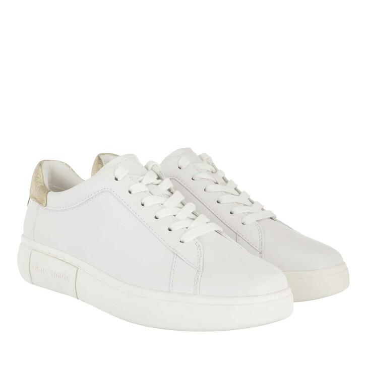 Schuh, Kate Spade New York, Lift Sneaker  Optic White/Pale Gold
