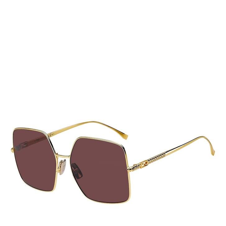 sunglasses, Fendi, FF 0439/S YELLOW GOLD