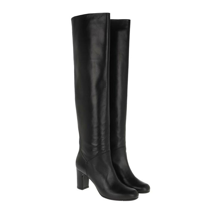 Schuh, L´Autre Chose, Boot No Zip Lamb Leather Black
