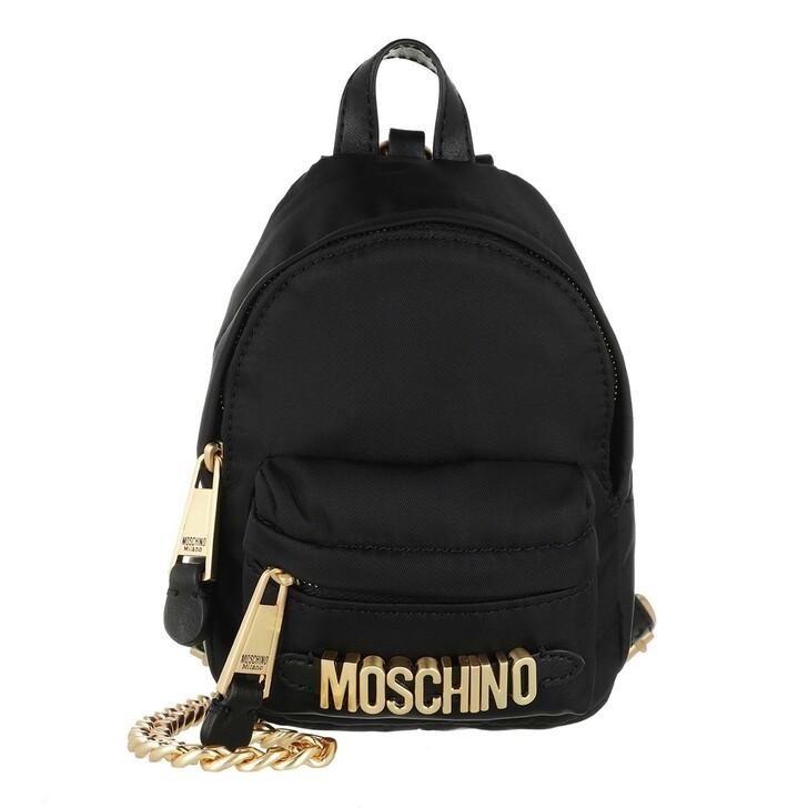 Handtasche, Moschino, Crossbody Bag Black