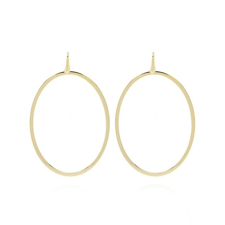 Ohrring, LOTT.gioielli, Earring Oval Gold