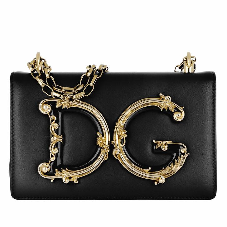 Handtasche, Dolce&Gabbana, DG Girls Crossbody Bag Nero