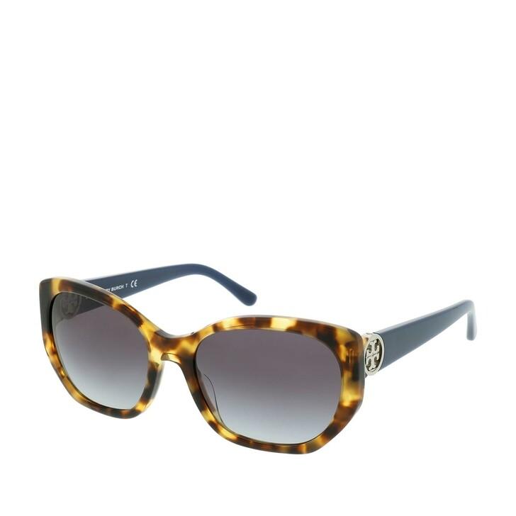 Sonnenbrille, Tory Burch, Woman Sunglasses Metal Vintage Tort