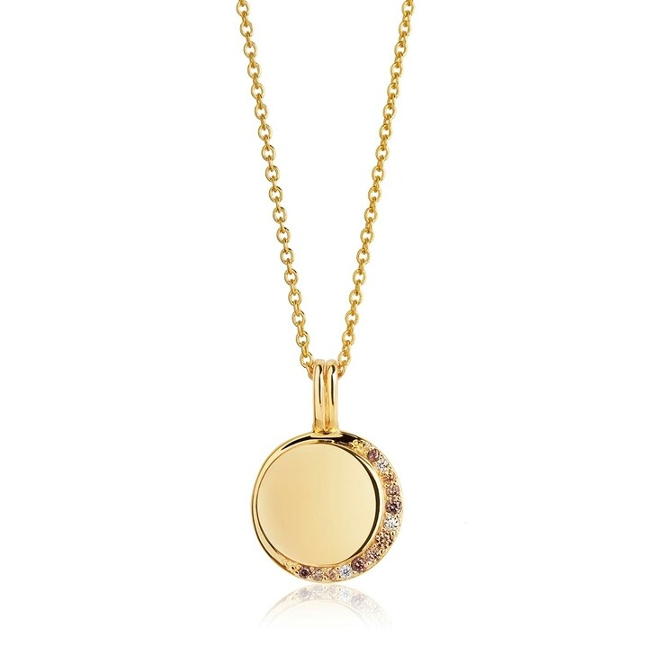 Kette, Sif Jakobs Jewellery, Portofino Pendant 90 cm Yellow Gold