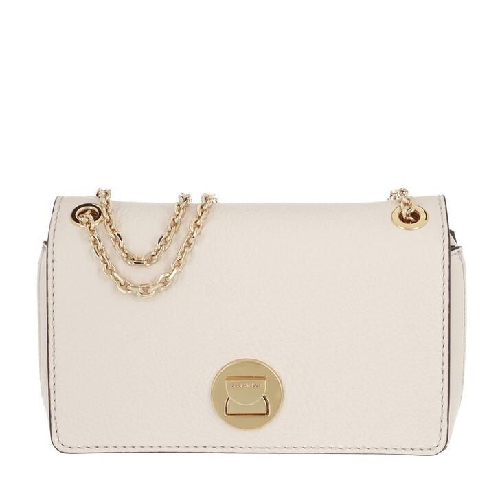 Handtasche, Coccinelle, Liya Crossbody Bag Lambskin White