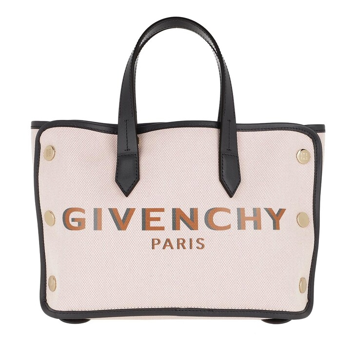 Handtasche, Givenchy, Mini Tote Bag Canvas Pink