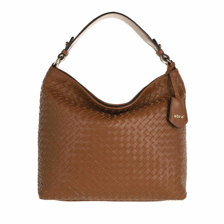 bags, Abro, Bucket ELVI small  Caramel/Cognac