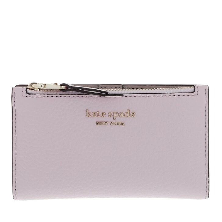 Geldbörse, Kate Spade New York, Small Slim Bifold Wallet  Lilac Moonlight