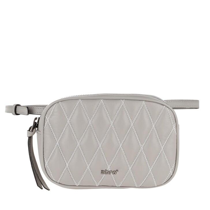 Handtasche, Abro, Romby Belt Bag Stone