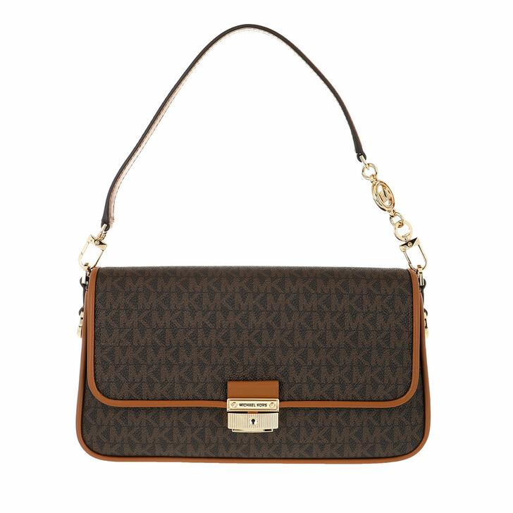 Handtasche, MICHAEL Michael Kors, Bradshaw Shoulder Handbag   Brown/Acorn