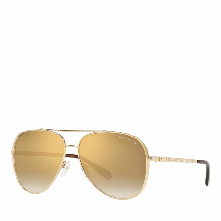 sunglasses, Michael Kors, Woman Sunglasses 0MK1101B Light Gold