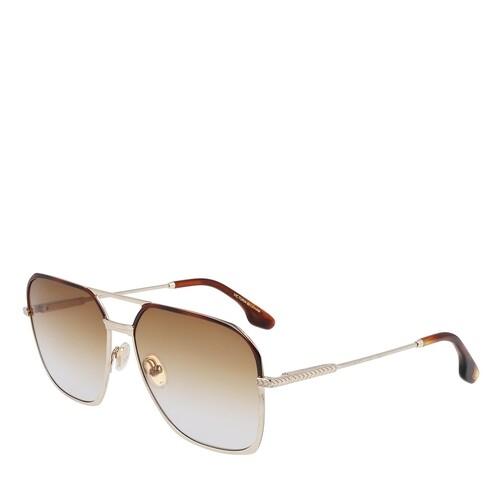 victoria beckham -  Sonnenbrille - VB212S - in gold - für Damen