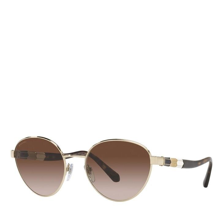 Sonnenbrille, BVLGARI, 0BV6155 PALE GOLD