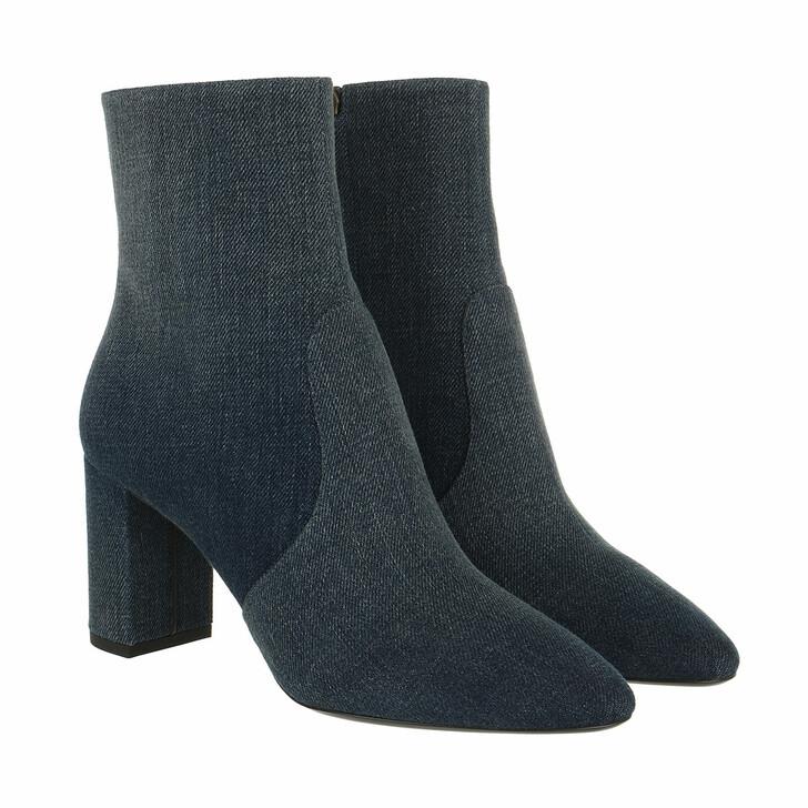 shoes, Saint Laurent, Lou Zip Bootie Blue